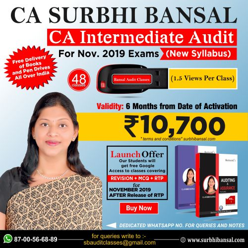 pen-drive-classes-for-ca-inter-audit---by-ca-surbhi-bansal---for-nov.-2019-exams----new-syllabus