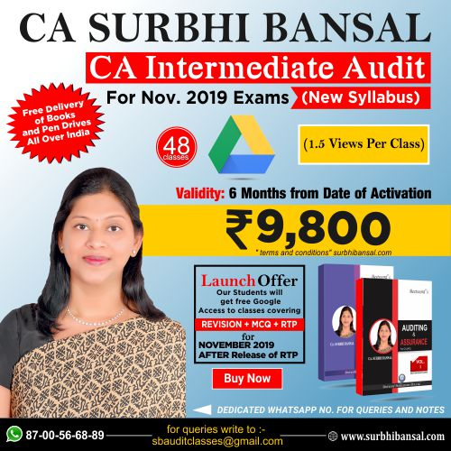 google-drive-classes-for-ca-inter-audit---by-ca-surbhi-bansal---for-nov.-2019-exams----new-syllabus