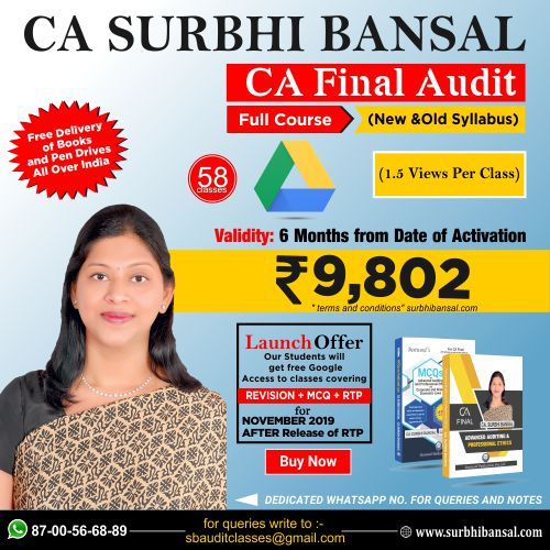 google-drive-classes-for-ca-final-audit--–------by-ca-surbhi-bansal---for-nov.-2019-exams-(new-&-old-syllabus)