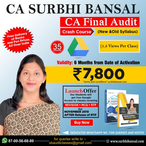 google-drive-classes-for-ca-final-audit-crash-course-–------by-ca-surbhi-bansal---for-nov.-2019-exams-(new-&-old-syllabus)