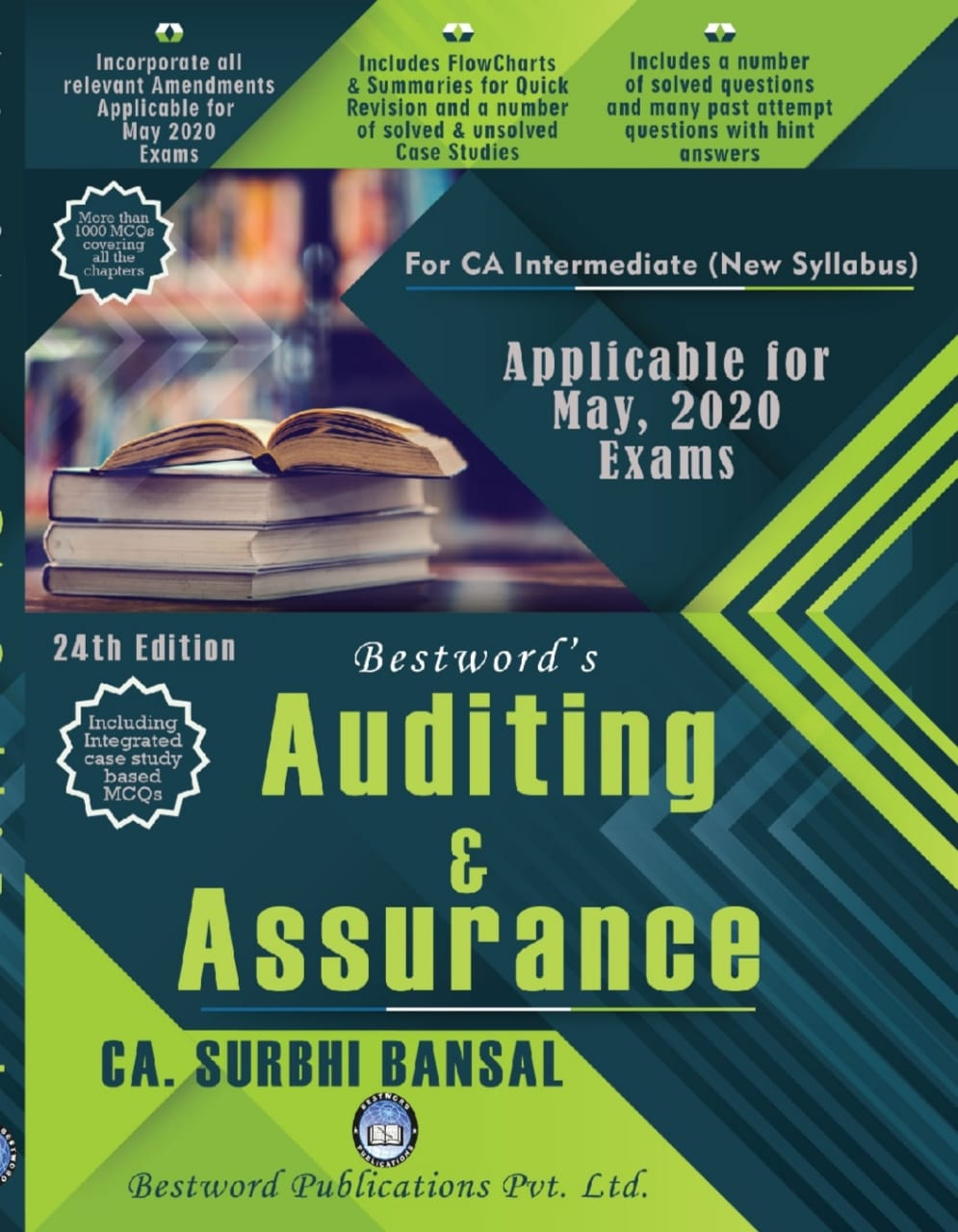 bestword's-auditing-and-assurance---by-ca-surbhi-bansal---24th-edition---for-ca-(intermediate)-may,-2020-exams-(new-syllabus)
