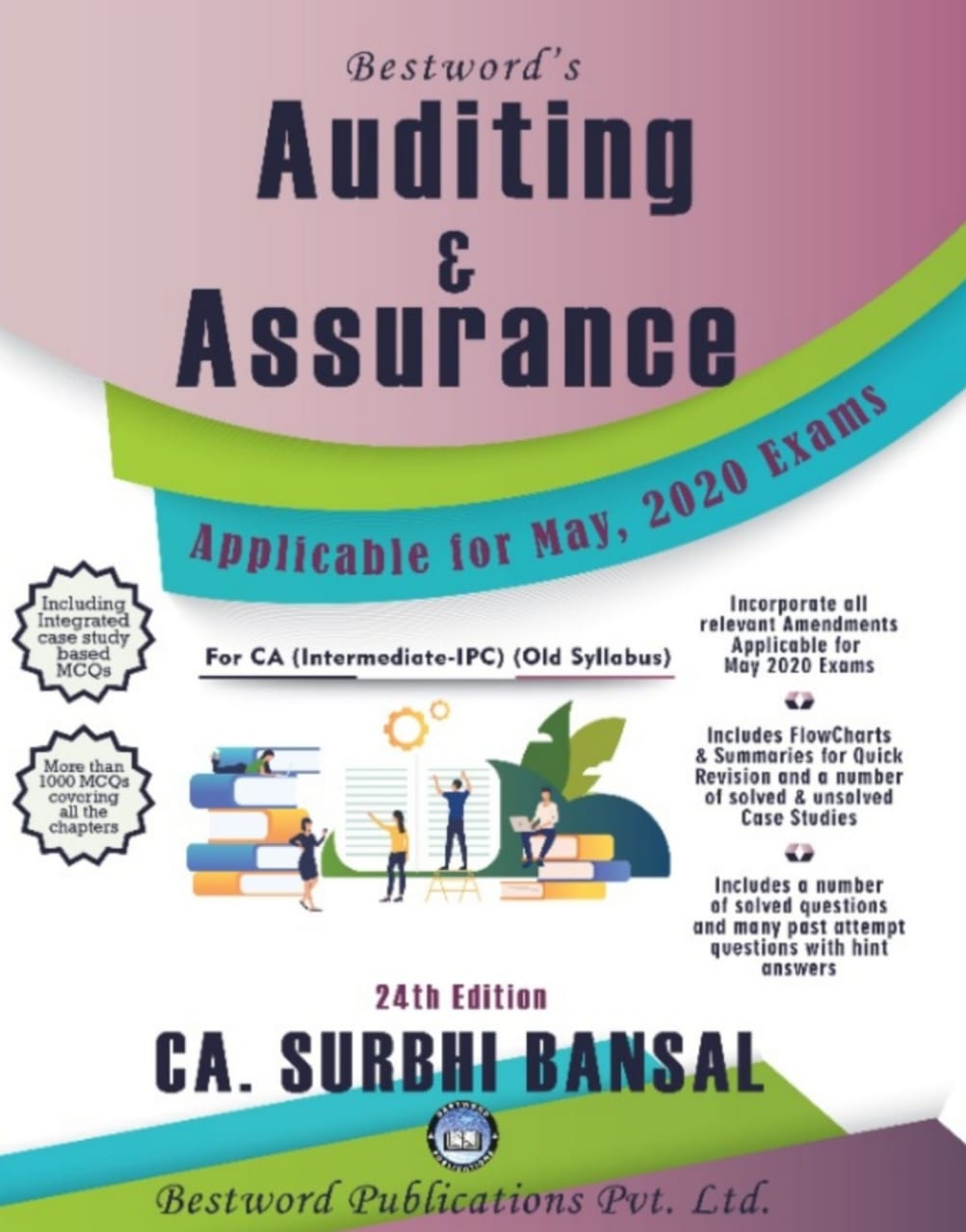 bestword's-auditing-and--assurance---by-ca-surbhi-bansal-–-24th-edition---for-ca-(ipc)-may,-2020-exams-(old-syllabus)