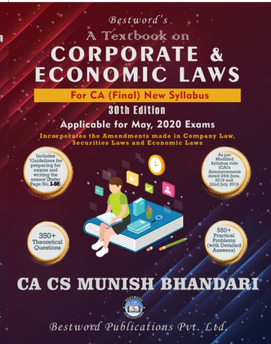 bestword's-a-textbook-on-corporate-and-economic-laws---by-ca-cs-munish-bhandari---30th-edition---for-ca-(final)-may,-2020-exams-(new-syllabus)