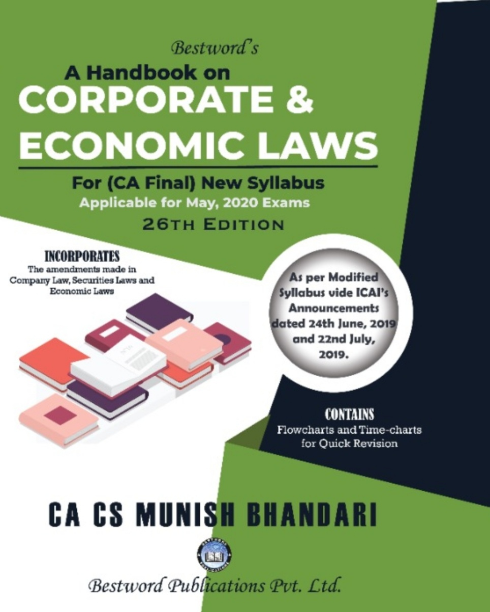 bestword's-a-handbook-on-corporate-and-economic-laws---by-ca-cs-munish-bhandari---26th-edition---for-ca-(final)-may,-2020-exams-(new-syllabus)