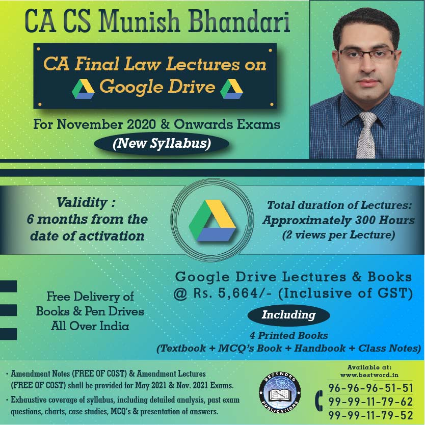google-drive-lectures-for-ca-final-law-–-by-ca-cs-munish-bhandari---for-november,-2020-exams-(corporate-and-economic-laws---new-syllabus)