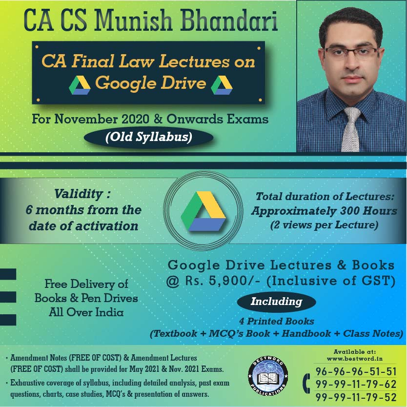 google-drive-lectures-for-ca-final-law-–-by-ca-cs-munish-bhandari---for-november,-2020-exams-(corporate-and-allied-laws---old-syllabus)