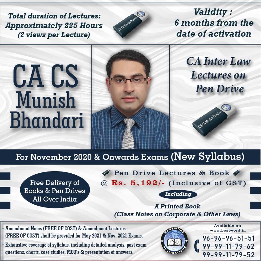 pen-drive-lectures-for-ca-inter-law-–-by-ca-cs-munish-bhandari---for-november-2020-exams-(corporate-and-other-laws---new-syllabus)