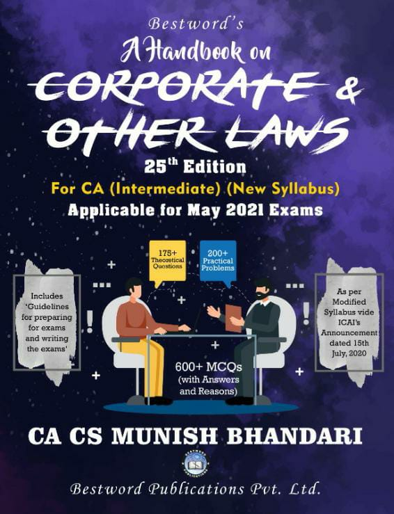 bestword's-a-handbook-on-corporate-and-other-laws---by-ca-cs-munish-bhandari---25th-edition---for-ca-(intermediate)-may,-2021-exams-(new-syllabus)