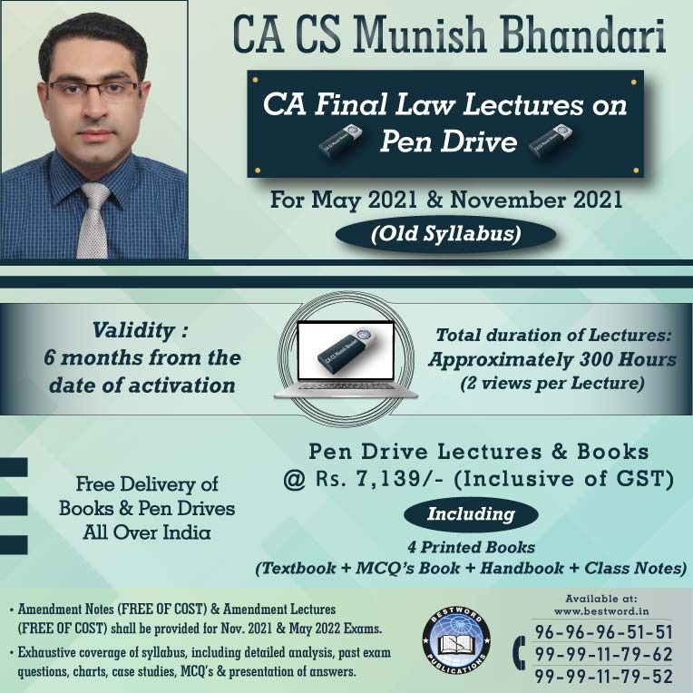 pen-drive-lectures-for-ca-final-law-–-by-ca-cs-munish-bhandari---for-may-2021-&-nov.-21-exams-(corporate-and-allied-laws---old-syllabus)